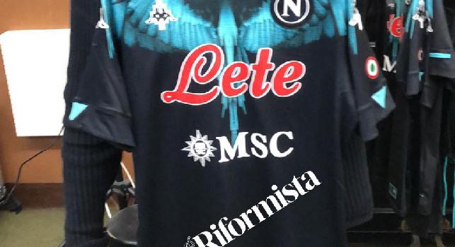 Il Riformista - Spuntano 2 maglie con fantasia Marcelo Burlon del Napoli, una è per Maradona? [FOTO]