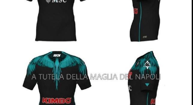 Marcelo Burlon X Kappa X SSCN: spuntano ulteriori immagini sulla possibile collaborazione col Napoli [FOTO]