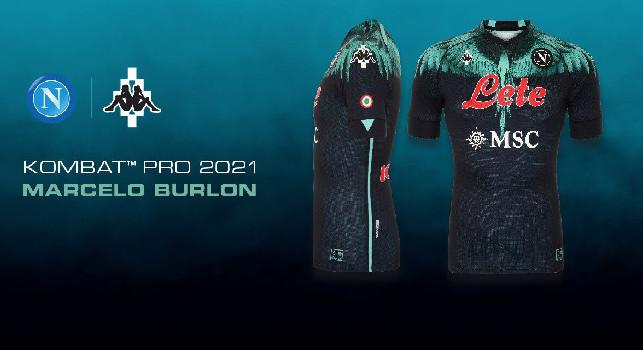 Linea Marcelo Burlon x SSC Napoli, già sold-out quasi tutta la collezione! [FOTO]