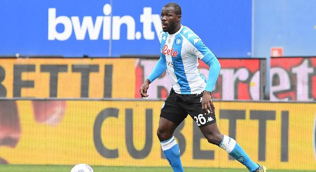 Koulibaly ha deciso di restare a Napoli perché ritiene Spalletti una garanzia, il retroscena