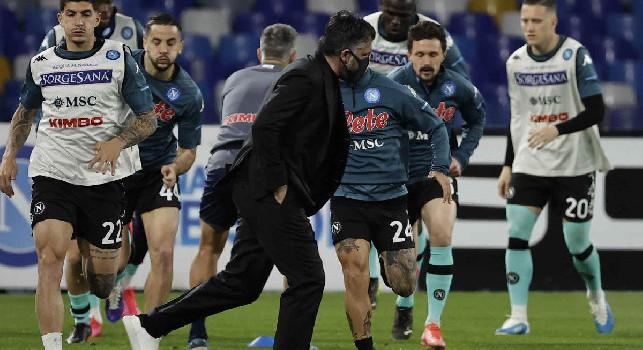 Cdm - Dibattito Superlega è arrivato a Castel Volturno ma Gattuso ha fatto un discorso alla squadra