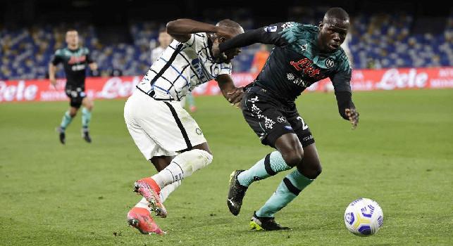 Gazzetta - Improbabile che Gattuso forzi il recupero di Koulibaly: probabile la stagione di Kalidou sia finita qui