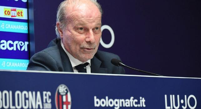 UFFICIALE - Bologna, Sabatini dirà addio: il contratto di consulenza non sarà rinnovato
