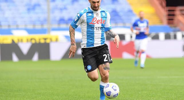 Napoli-Lazio 2-0, Politano concretizza un contropiede e batte Reina sul primo palo!