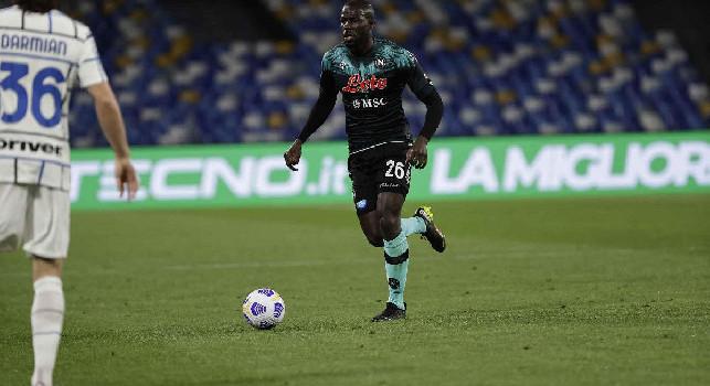 Gazzetta - Koulibaly resta al Napoli: decisione condivisa tra ADL e Spalletti. Probabile rinnovo per spalmare l'ingaggio da 6 milioni