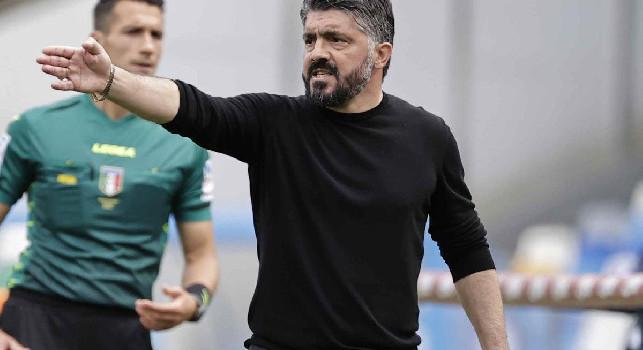 CorSport critica Gattuso: il secondo tempo del Napoli è in nove dietro la linea della palla e preghiera a Osimhen