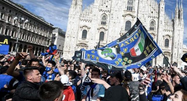 E se fosse successo a Napoli? CorSera: Rischiosa e scellerata la festa Inter a Milano, si possono vanificare chiusure e sacrifici per uno scudetto?