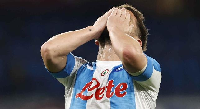 Alvino su Mertens: Distorsione alla caviglia: potrebbe già recuperare per l'Udinese