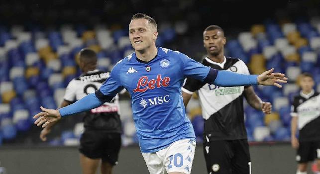 La SSC Napoli annuncia: Lunedì Piotr Zielinski arriverà a Dimaro in ritiro!