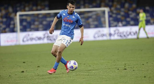 Lozano, che gol! Napoli-Udinese è sul 3-1