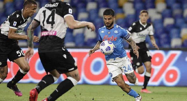 Insigne, Napoli-Udinese 5-1