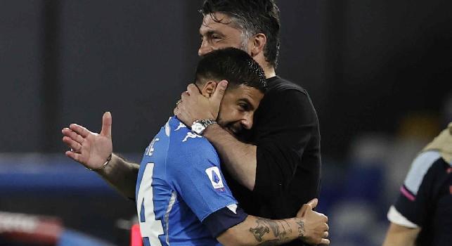 Dall'abbraccio Gattuso-Insigne al sorriso immenso di Osimhen: le emozioni di Napoli-Udinese 5-1 [FOTOGALLERY CN24]