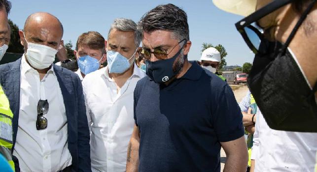 Fiorentina, Gattuso comincia la sua nuova avventura: l'allenatore in visita al Viola Park [FOTO]