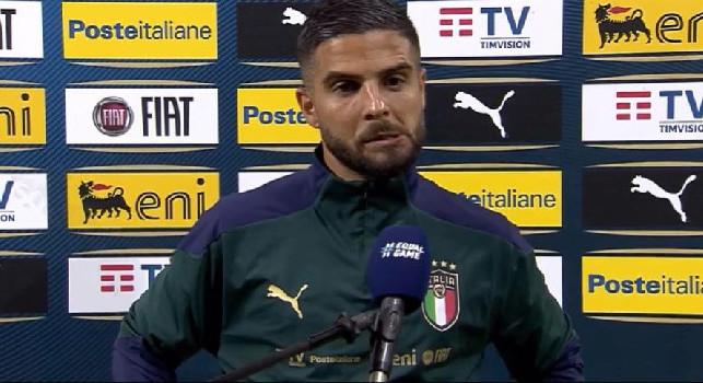Italia, Insigne: La nostra forza è il gruppo. Il gol? Creo occasioni, poi se arriva il gol è ancora meglio...