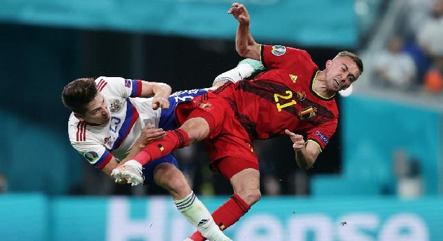 Brutte notizie per il Belgio di Mertens: doppia frattura per Castagne, finito il suo Euro 2020