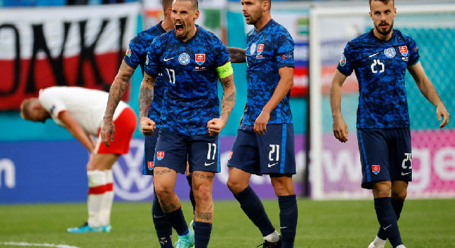 Slovacchia, Hamsik: Concesso alla Spagna troppo spazio, pensato solo a difenderci