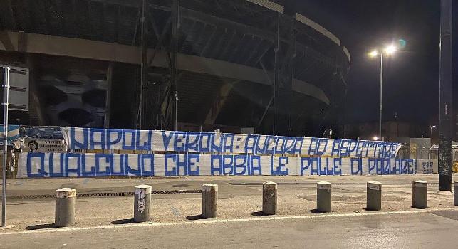 Curva B, stadio Maradona di Napoli