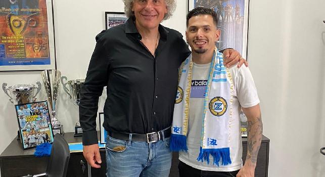 """Calcio a 5 - Il portoghese Coelho è un nuovo giocatore del Napoli Futsal: """"Felice della mia scelta"""". Il presidente Perugino: """"Salto di qualità con lui"""""""