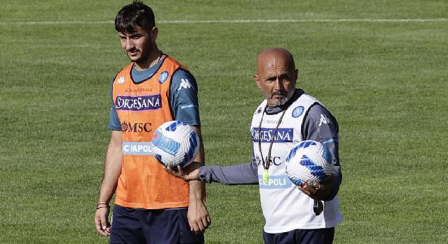 Buone notizie da Dimaro: Manolas, Malcuit e Tutino hanno lavorato nuovamente in gruppo