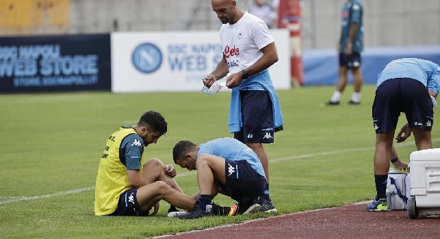 SSC Napoli, report ottavo giorno Dimaro: Manolas e Zielinski si sono divisi tra lavoro in gruppo e personalizzato