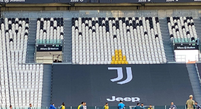 Riapertura stadi Serie A, Tuttosport: l'Allianz Stadium sarà l'unico al 50% mentre gli altri al 33%, il motivo