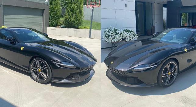 Hamsik e il regalo per il suo compleanno: nuova Ferrari per l'ex capitano azzurro! [FOTO]