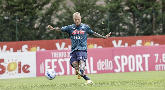 Sky - Ciciretti pronto a lasciare un'altra volta il Napoli, andrà al Pordenone in Serie B