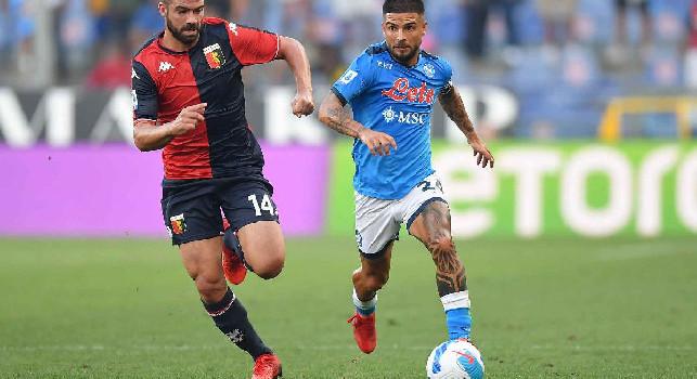 Gazzetta - Allarme Insigne, rischia di saltare Leicester e Udine: la situazione