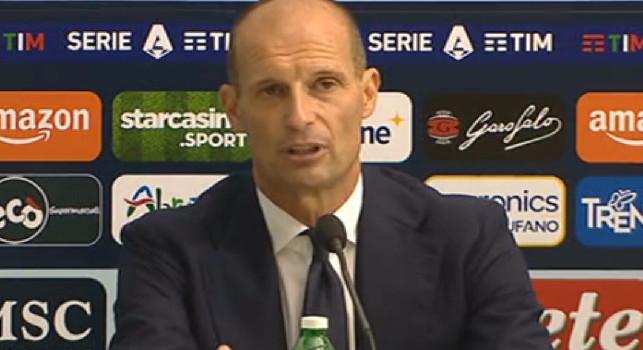 Allegri in conferenza: Spezia-Juventus? Ad oggi è una sfida salvezza