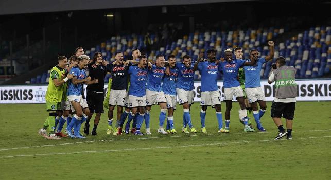 Europa League, il Napoli ha sempre superato il girone! C'è un record degli azzurri ancora imbattuto da sei anni