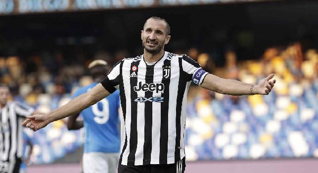 Juventus, Chiellini: Siamo stati compatti per tutta la gara, c'è da esserne orgogliosi! Meritavamo almeno il pari