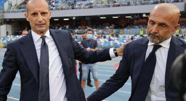 Allegri minimizza: Litigio con Spalletti? Cose tra toscani, capitano...