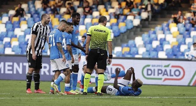 Napoli-Juve 2-1, la moviola CorSport: che rischio Chiellini su Osimhen