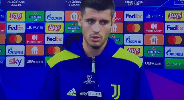 Juve, Morata torna sulla sfida col Napoli: Abbiamo fatto una partita seria ma avevamo 6 assenze importanti