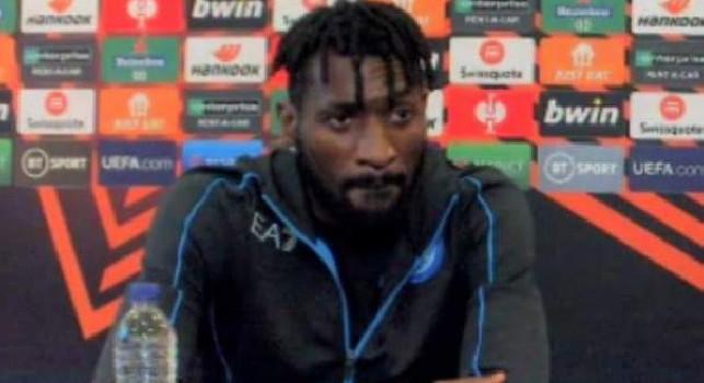 Anguissa in conferenza: Felice di essere a Napoli. Il calcio italiano è più tattico. Vardy? Dobbiamo fare attenzione a tutto il Leicester