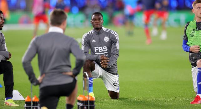 Leicester, Daka: Non sono abbastanza soddisfatto per il risultato, ma l'atmosfera dei tifosi è stata fantastica