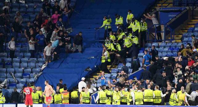Nove arresti per Leicester-Napoli, CorSport: il bilancio finale non fa di certo onore ad una serata di gala