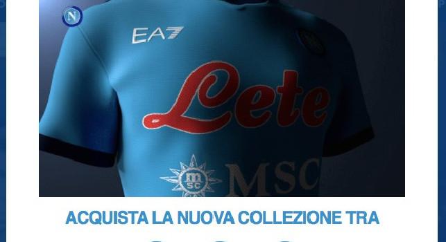 Collezione EA7-Napoli, dalle 10 sarà disponibile tutto il materiale! Countdown sul sito azzurro