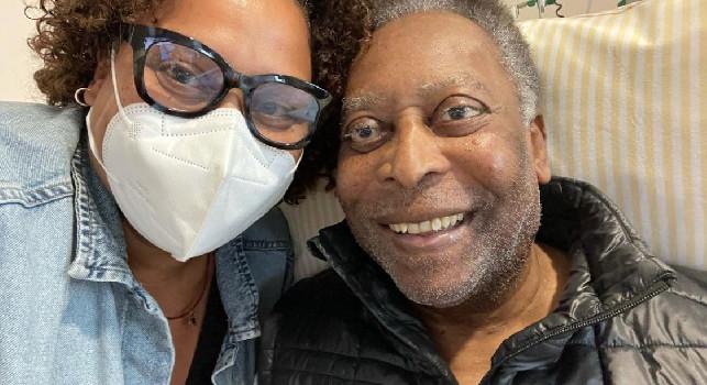 Pelé, la figlia: Ieri ha fatto un passo indietro, oggi due avanti