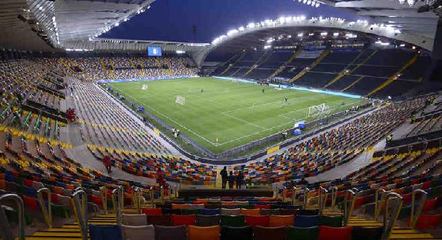 Tmw - Udinese-Napoli, le probabili formazioni: Fabian e Anguissa guidano la mediana
