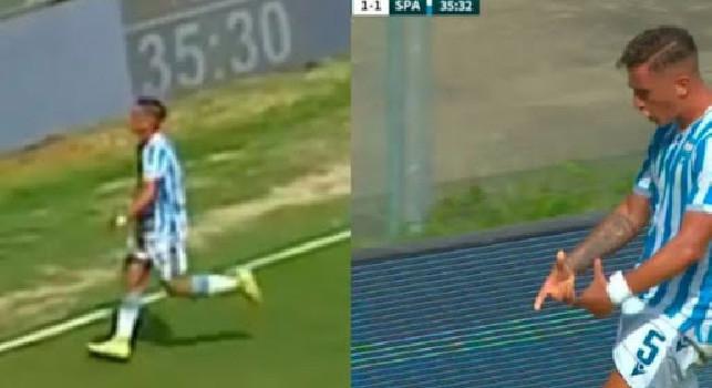 Condotta antisportiva, Salvatore Esposito nel mirino della FIGC dopo esultanza con la Spal