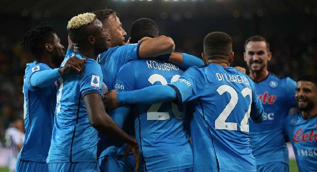 Pagelle Udinese-Napoli: centrali da urlo, Mario Rui...pure! Fabian principesco, Insigne <i>derubato</i> da Osimhen