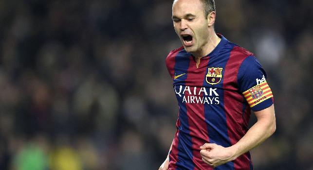 Iniesta sul ritorno al Barça: Mi piacerebbe, ma non ho ancora deciso