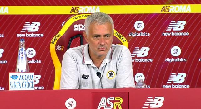 Roma, Mourinho: Napoli? Grande squadra. Lunedì l'Udinese ha perso male, ma...