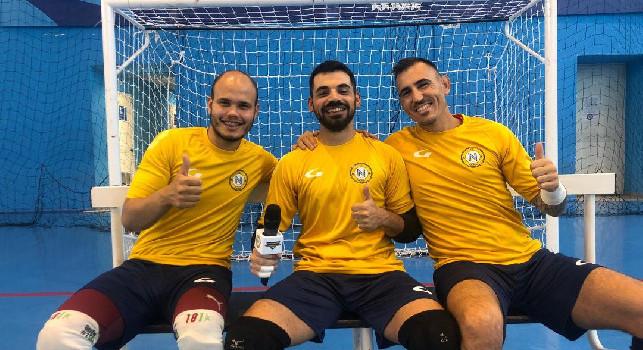 Calcio a 5 - Molitierno, Ganho e Capiretti chiudono la porta degli azzurri: Ci faremo trovare pronti per portare il Napoli dove merita