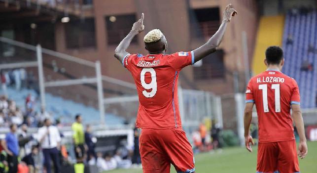 Opta - Il Napoli ha vinto tutte le ultime 54 partite di Serie A in cui ha realizzato almeno due gol nel primo tempo