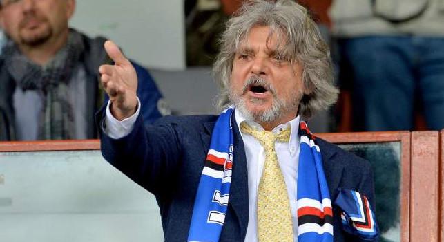 Sampdoria-Napoli, continua la protesta contro Ferrero: Uomo di m***a!