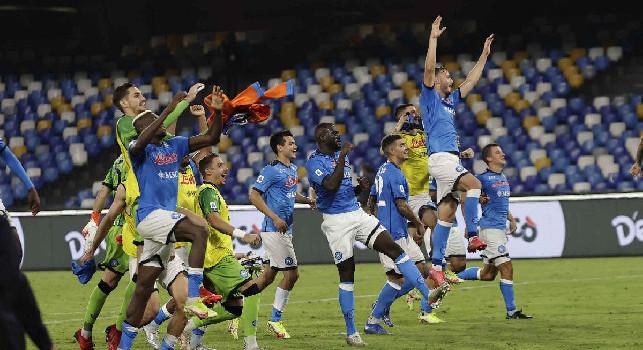 CorSport pazzo del Napoli: impressiona per la razionalità pura! La testa sta al centro del loro gioco e nulla accade per caso