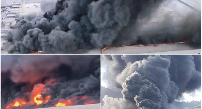 Napoli nuvola tossica