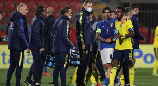 Caso Under 21, la FIGC smentisce insulti razzisti all'attaccante della Svezia Elanga: la palla passa alla Uefa